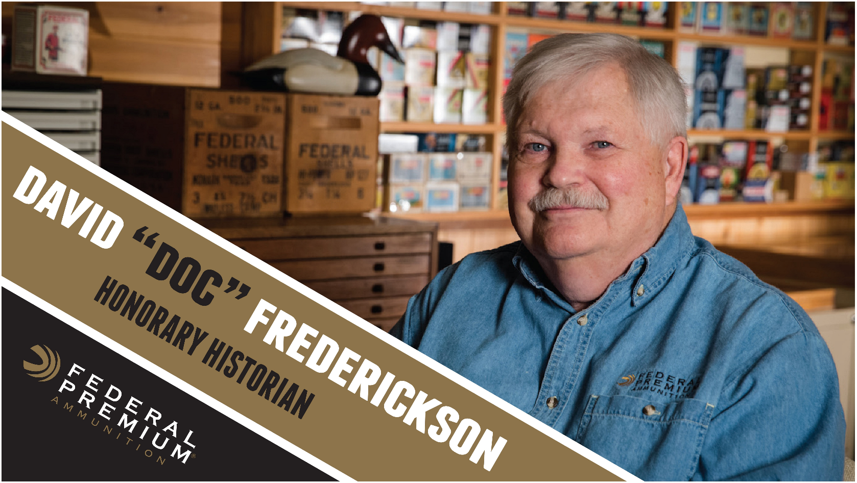 "Federal Premium Names David ""Doc"" Frederickson Honorary Historian"