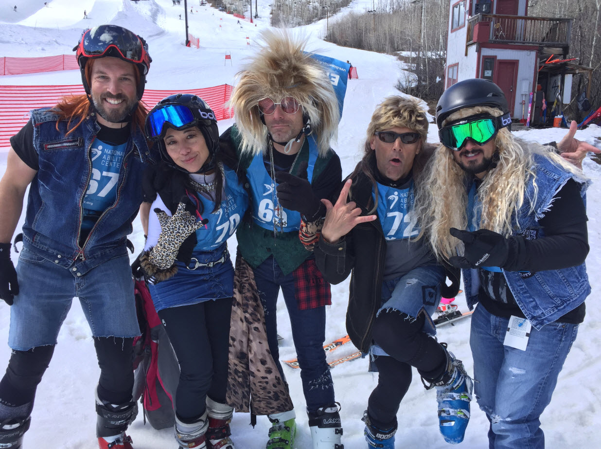 Vista Outdoor Team Takes The Ability Snow Challenge