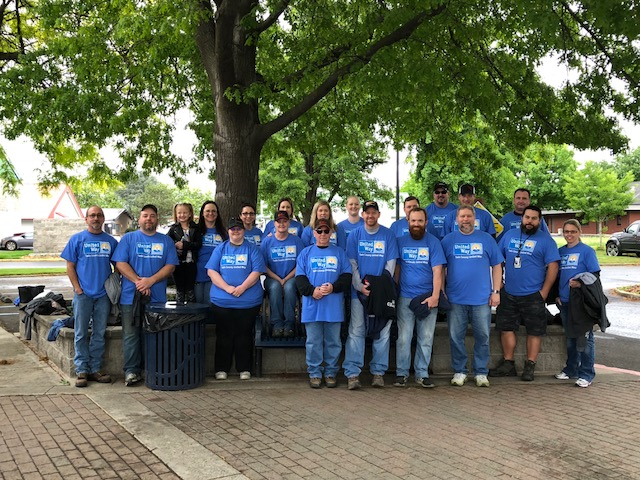 Lewiston, Idaho Employees Participate In Day Of Caring